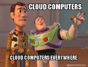 Image result for the cloud meme
